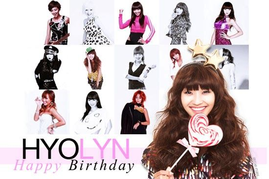 Happy Birthday HyoLyn