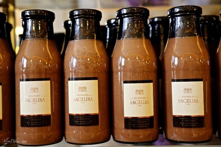 Angelina Paris Hot Chocolate.  Get in my fridge.: Hot Cocoapari, Paris Hot, Paris France, Angelina Paris, My Son, Angelina Restaurant, Hot Chocolates, Photo, Hot Cocoa Paris