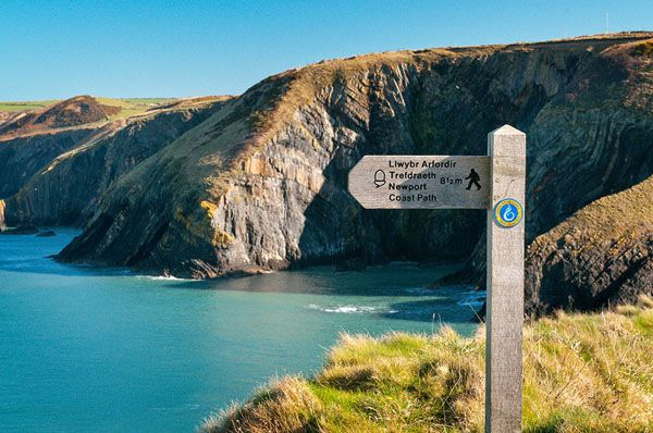 West Wales' coastal path - perfect to kick start Wales' Year of Adventure #findyourepic #walesadventure