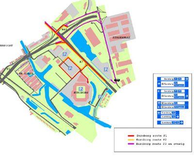 Grote verkeersdrukte rondom Noordelijke derby - sc Heerenveen
