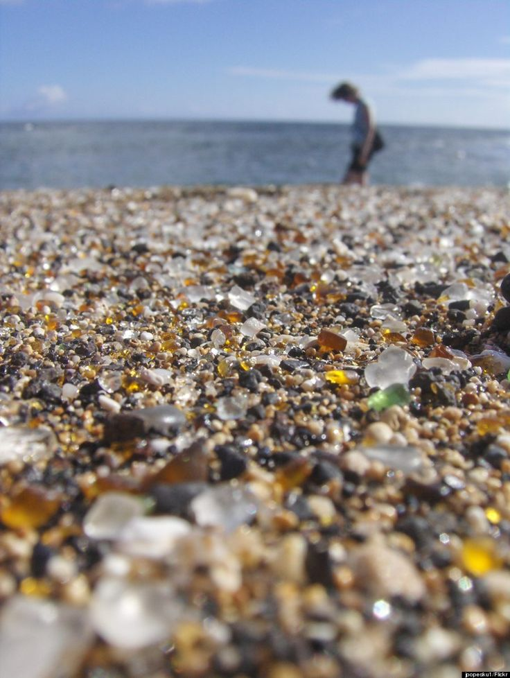 Glass Beach, Kauai.  The 21 Most Magical Spots in Hawaii.