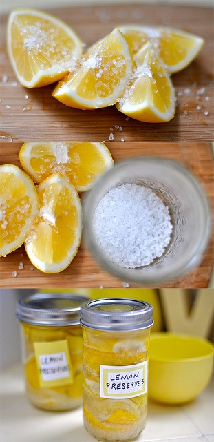 Preserved lemons.