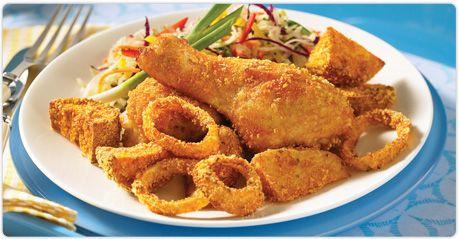 Fermes Burnbrae : Le coin recettes : Du poulet frit pour souper