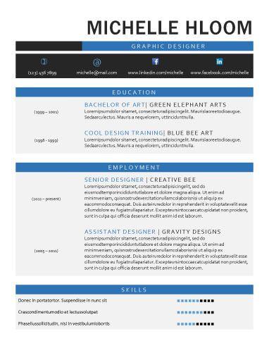 31 best Beaux CV images on Pinterest Business card design - contemporary resume format