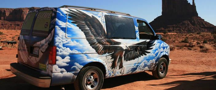 Campervan Hire | Western USA from Las Vegas