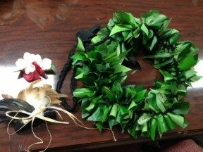 A simple DIY tutorial on how to make your own Ti Leaf Hip Hei for a Tahitian dance costume!