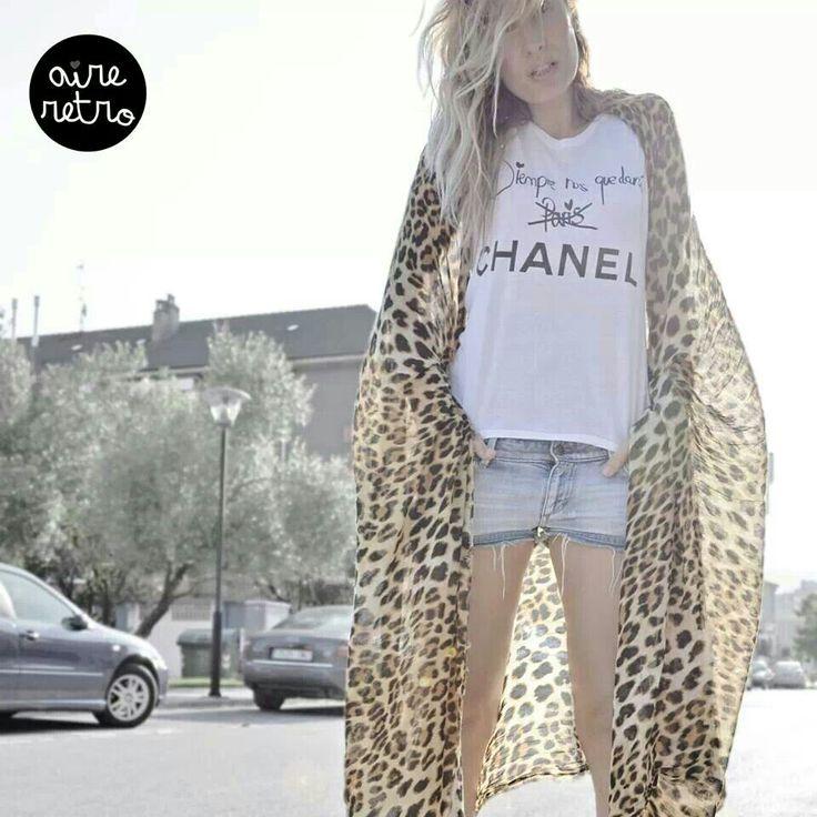 """Camiseta """" Siempre nos quedará Chanel """" Aire Retro"""