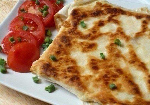 Ёка — гениальный сырный омлет в лаваше