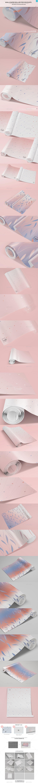 6 poster design photo mockups 57079 - Wallpaper Rolled Psd Mockups