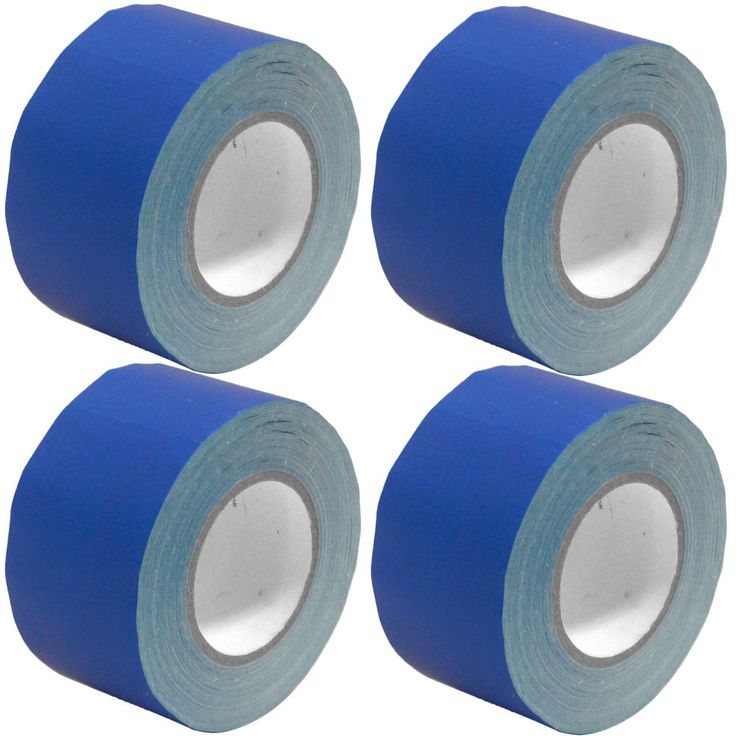 Gaffer's Tape - Blue - 3 inch (4 Pack)