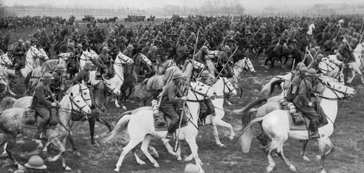 TO GO WITH AFP STORIES WWII-HISTORY-ANNIVERSARY-MILITARY (FILES) Picture dated on September 1939 shows the Polish cavalry about to fight against the German forces which swept on September 1, 1939 into Poland. September 1939. Polish cavalrymen saddle up, level their lances and sabres, and charge headlong into the advancing Nazi German tanks. That has become a stock image: the problem is that it's a myth. AFP PHOTO (Photo credit should read STF/AFP/Getty Images)