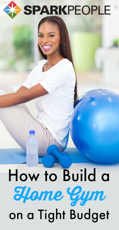 Although you might be cautious due to budget and space limitations in your house, building a home gym isn?t as impractical as you might think. via @SparkPeople
