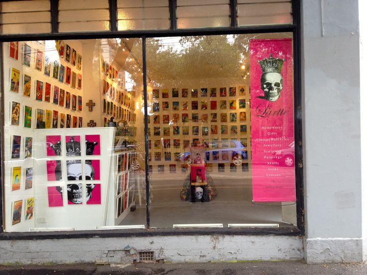 Skullamour pop up shop Gertrude street Fitzroy Melbourne