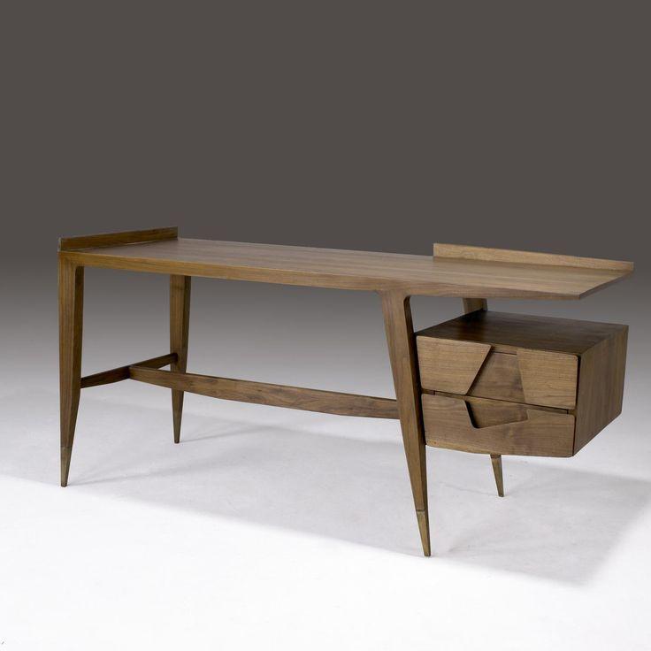 Gio Ponti desk #exclusivedesign #contemporarydesign #contemporaryFurniture #uniquedesignfurniture #luxurydesignfurniture #inspirationideiasdesign