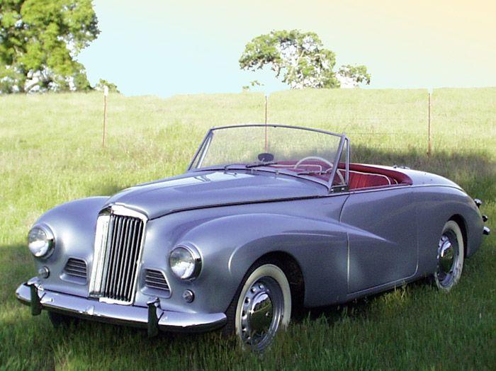 a 1954 Sunbeam Talbot Alpine 2, I want one so I can drive all through the coast of California :)