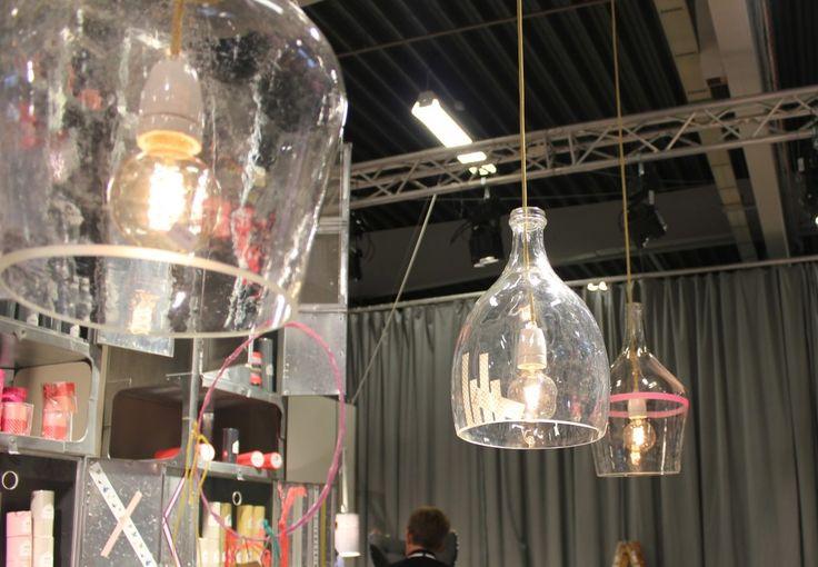 vinballoner som lamper med maskingtape #lamper af vinballoner