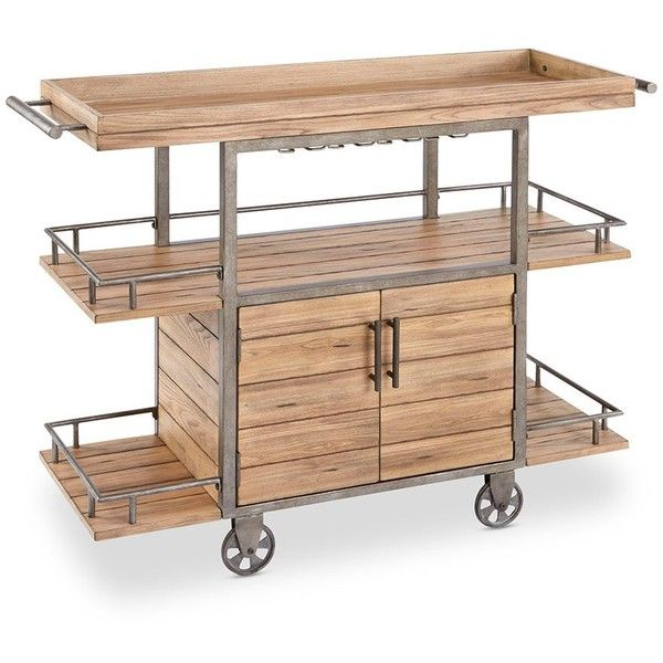 Go Home Black Industrial Kitchen Cart At Lowes Com: Best 25+ Industrial Outdoor Serving Carts Ideas On