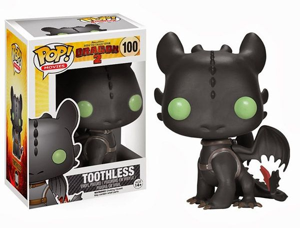Funko Toothless!! Waaaaant! (New Funko POP! Figures For How To Train Your Dragon 2 - released in April 2014)