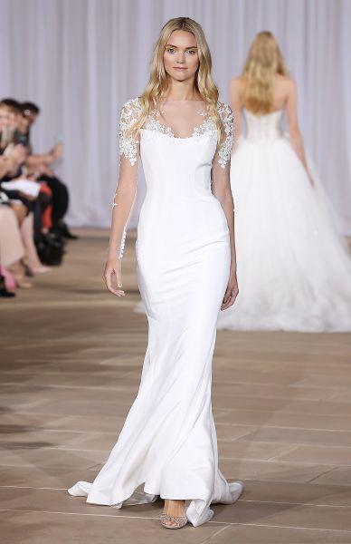 Vestidos de novia corte sirena 2017: 35 propuestas que te enamorarán Image: 31