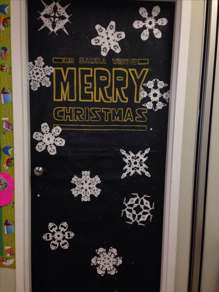 Christmas Door Decorations Star Wars