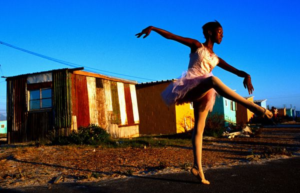 Township Ballerina  http://www.ihcapetown.com/index.php/en/features-3/sample-content/photos/cape-town