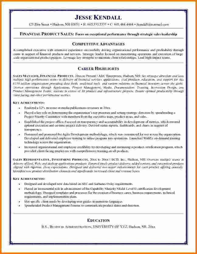 Elegant 8 Financial Resume Sample Resume Objective Statement Examples Resume Objective Examples Resume Cover Letter Examples