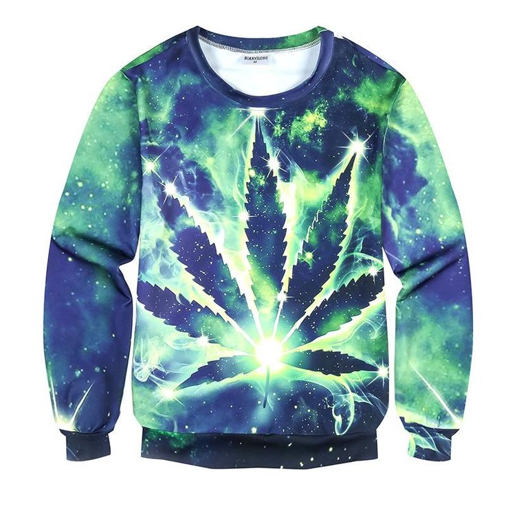 Hot Cheap Men Sweatshirt green weed Hoodies 3D Print Funny Top Tees Long Sleeve Camisetas Winter Clothes Designer Clothing M-4XL