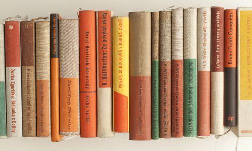 The colors, the colors! Book design by Ladislav Sutnar.