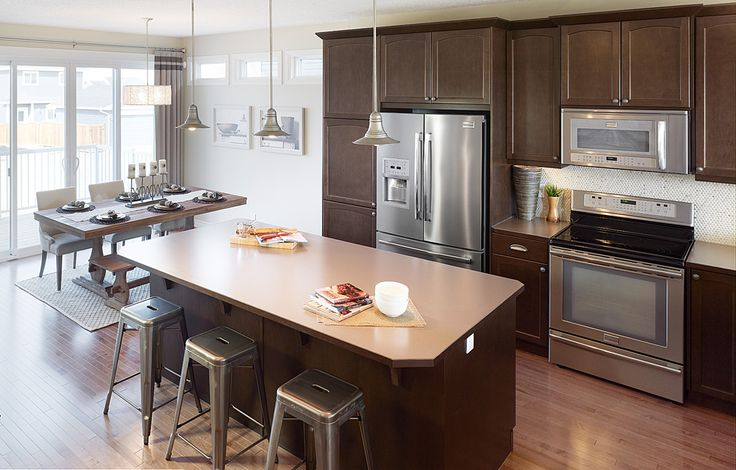 The Desmond Kitchen In Riversong Trico Homes Check Out The New