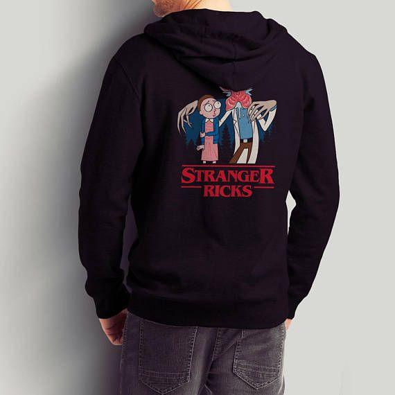 Stranger Ricks / Rick and Morty Pullover / Netflix Stranger