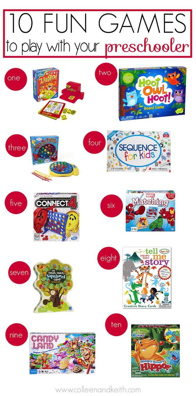 10 Fun Games to Play with Your Preschooler | Kid Stuff ... Funny Games To Play