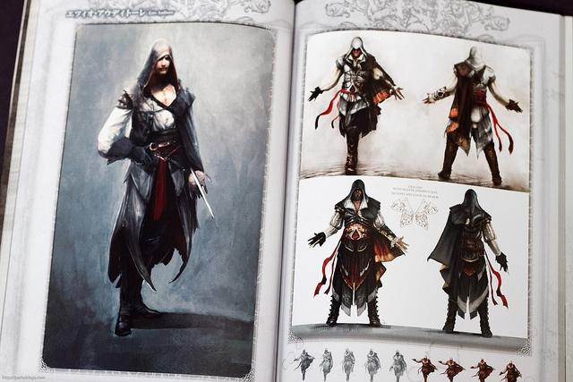 アサシン クリード アサシン クリード2 設定資料集 (Assassins Creed 1 and 2 Design Works) by Parka81, via Flickr