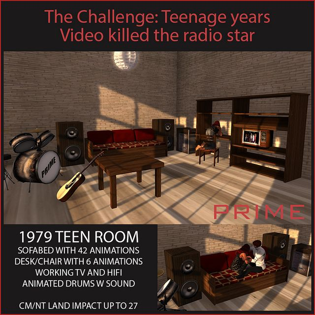 Video Killed the Radio Star Teen bedroom by PRIME for the Challenge | Flickr - Photo Sharing!