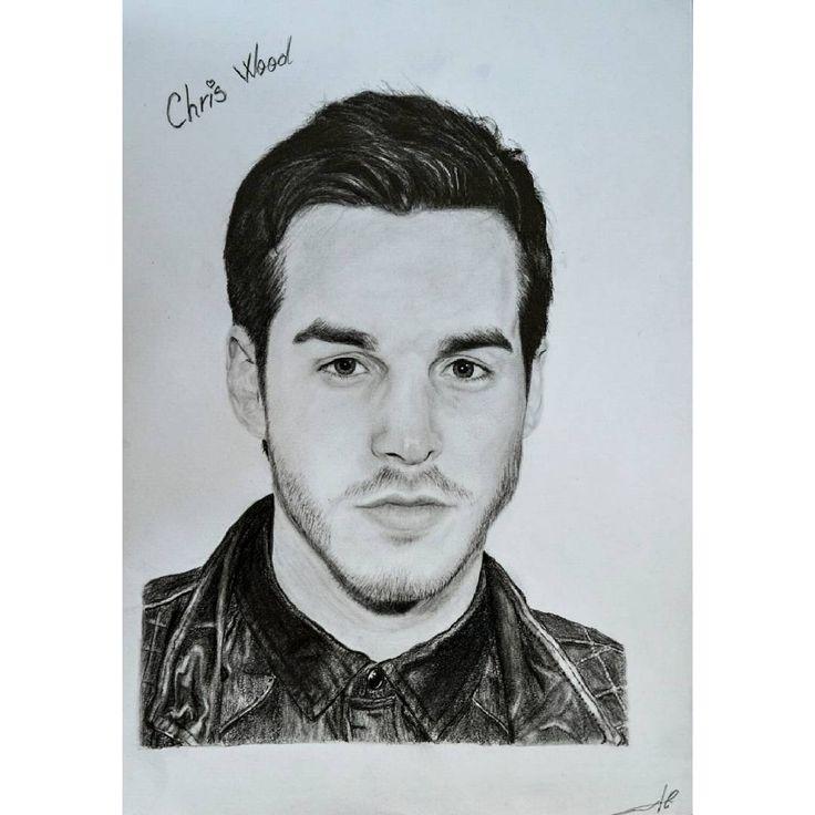 "56 aprecieri, 3 comentarii - @alisaurusart pe Instagram: ""@christophrwood #christophrwood #art #black #white #instadraw #illustration #drawing #portrait…"""