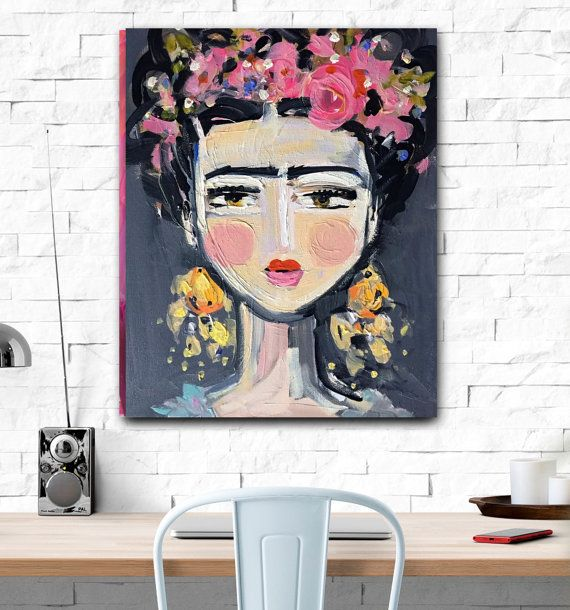 die besten 25 frida kahlo prints ideen auf pinterest schrullige kunst mexikanische kunst und. Black Bedroom Furniture Sets. Home Design Ideas