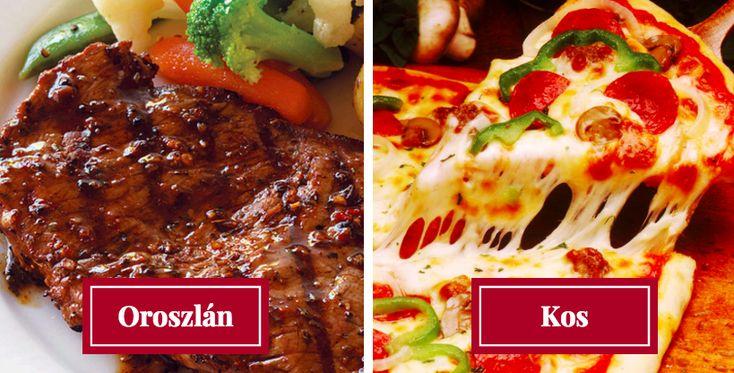 Íme, ezeket az ételeket imádják az egyes csillagjegyek! Csípős, édes, savanyú…