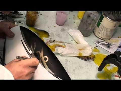 #Buell #airbrush #painting #HarleyDavidson #peinture perso #moto aerografia  #RaymondPlanchat Peintre aérographe #Lyon