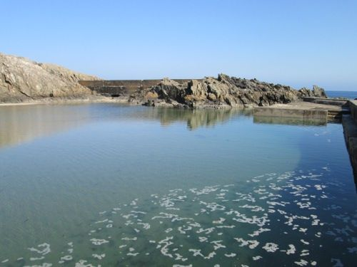 Portsoy Tidal Pool - now officially closed