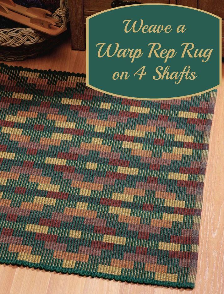 Marvelous Free 4 Shaft Rug Weaving Pattern! This Free EBook Has 3 4 Shaft
