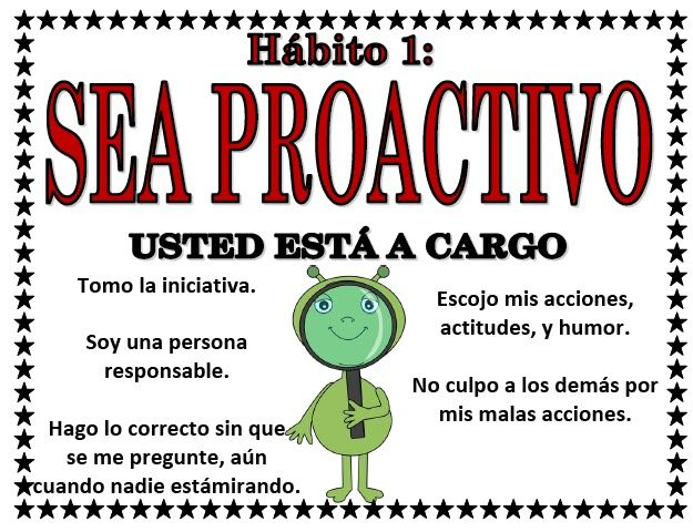 "the 7 habits in tree poster in spanish | ... are out of this World""-themed 7 Habits Posters ENGLISH and SPANISH"