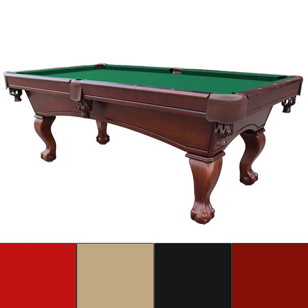 westport 8foot antique walnut slate pool table - Slate Pool Table