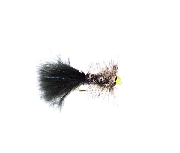 Trout Flies for Fly Fishing GLOW BUZZER Trout Flies Buzzers Hook size 12 UK