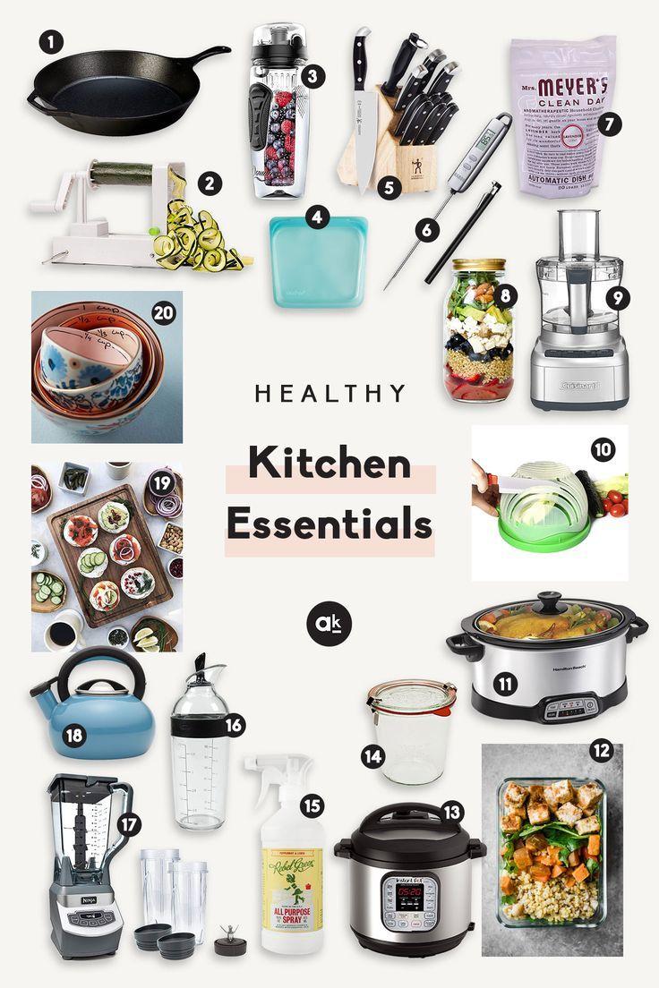 The Ultimate List Of Healthy Kitchen Essentials Healthy Kitchen