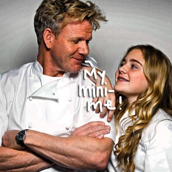 Gordon and Tilly Ramsay