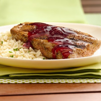 Raspberry Chipotle Pork Tenderloin