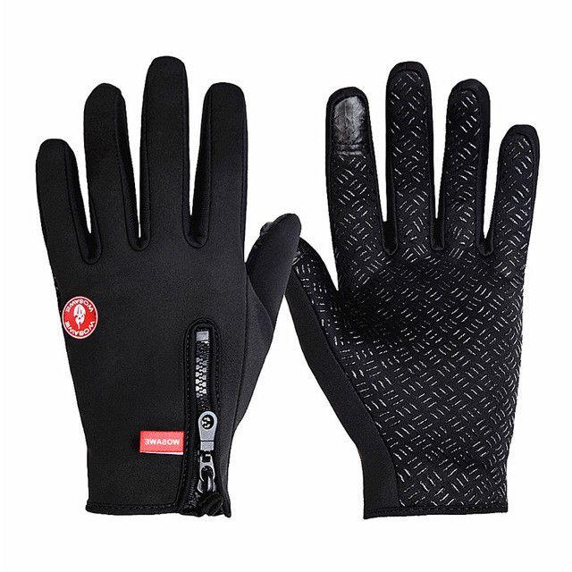 Anyfashion Windstopper Women Men Ski Gloves Snowboard Gloves Snowmobile Motorcycle Riding Gloves Windproof Snow Gloves