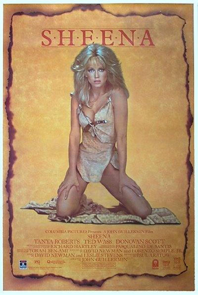 Sheena - Queen of the Jungle (1984)Film, Tanya Roberts Movies, Movie Posters, Sheena Jungles, Power Women, Queens, Jungles 1984, Tanya Robert Sheena, Jungles Princesses