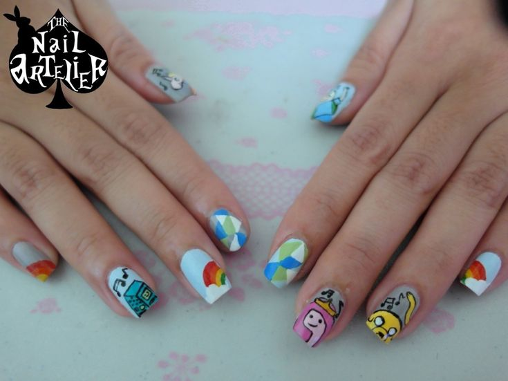 88 best cartoon characters images on pinterest belle cartoon character themed nail art prinsesfo Choice Image