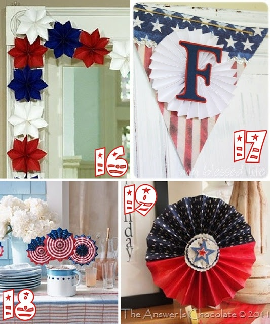 The Scrap Shoppe 19 Red White u0026 Blue Party Ideas. Patriotic PartyPatriotic DecorationsPatriotic ... & 110 best Patriotic Party Ideas images on Pinterest | Red white blue ...