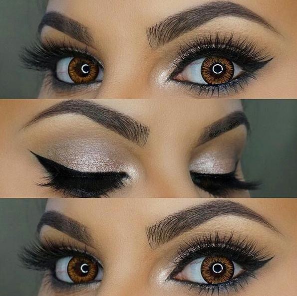 How To Do Eye Makeup For Black Dress - Mugeek Vidalondon